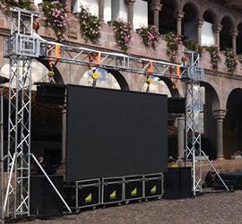 Estructuras para pantallas